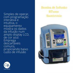 Bomba de Infusão Samtronic ST1000